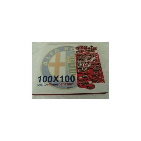 100x100 LIBRO ALFA ROMEO CENTOALFAPERCENT'ANNI