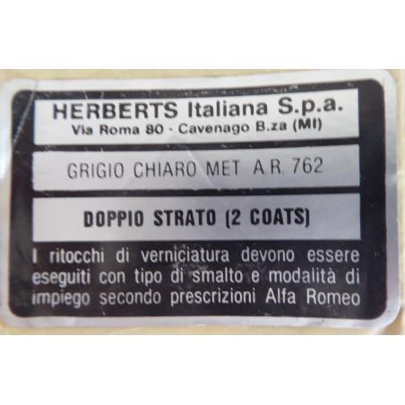ADESIVO COLORE GRIGIO CHIARO HERBERTS