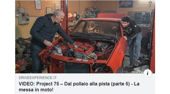 ALFA 75 PROJECT 5 - AFRA- DAVIDE CIRONI