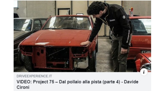 ALFA 75 PROJECT PART 4 - DAVIDE CIRONI - ENGL. SUB.