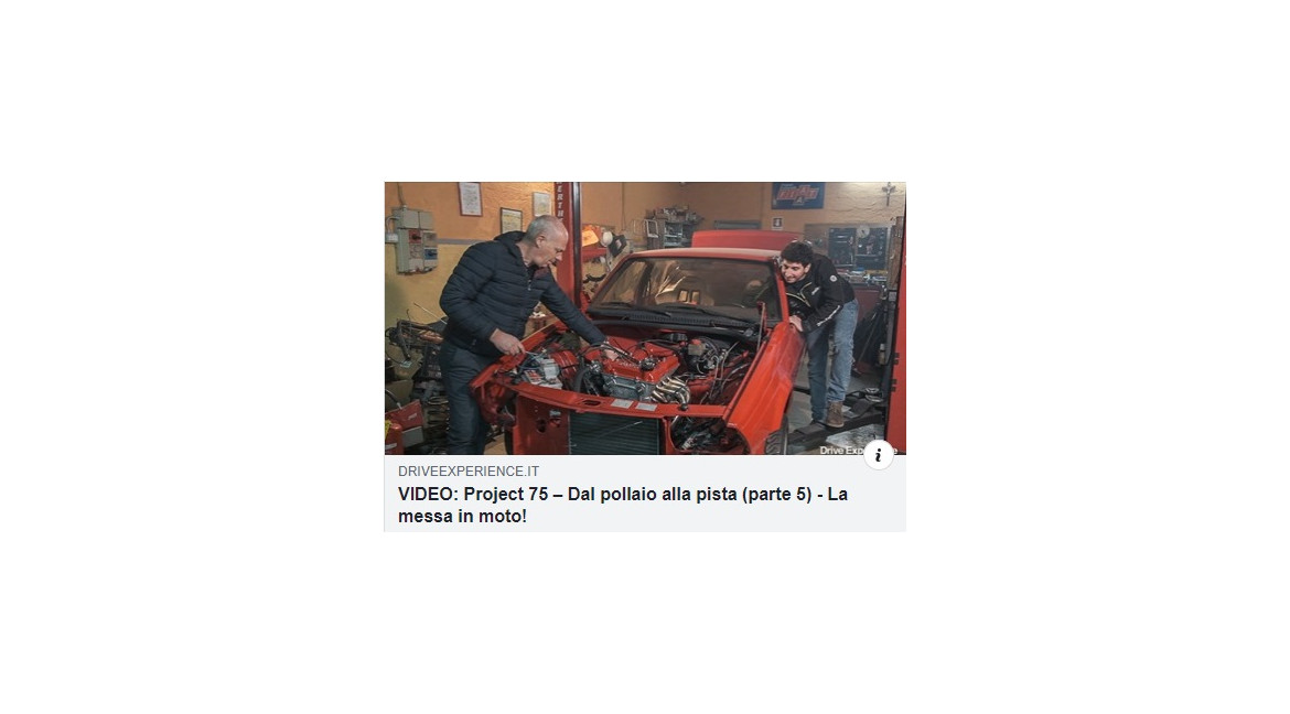 ALFA 75 PROJECT PART 5 - AFRA- DAVIDE CIRONI - ENGL. SUB